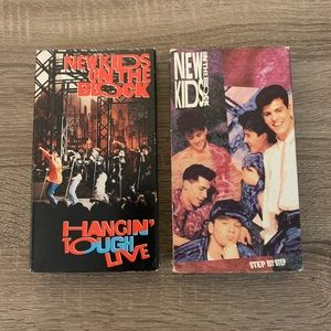 New Kids on the Block VHS (2)